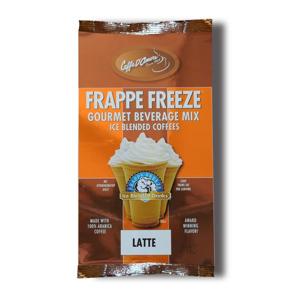Caffe D'Amore Frappe Freeze Latte Freeze - 3 lb Bag