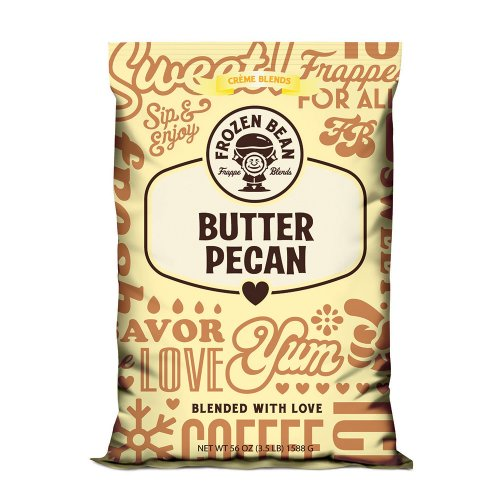 Frozen Bean Butter Pecan Beverage Mix - 3.5 lb Bag