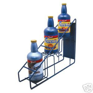 Torani 3 Bottle Wire Rack for Caffioco and Frusia