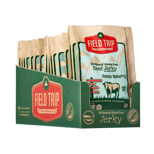 Field Trip Jerky All Natural Honey Spice No. 11 Beef Jerky-1 oz-Case