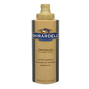 Ghirardelli Chocolate Sauce, 16 oz Squeeze Bottle