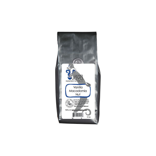 Jackie's Java Vanilla Macadamia Nut Roasted Coffee, Medium Roast