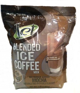 Jet No Sugar Added Mocha Blended Iced Coffee, 3 lb Bag