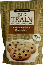 Big Train Low Carb Chocolate Chip Cookie Mix 11 oz bag-Case of 6