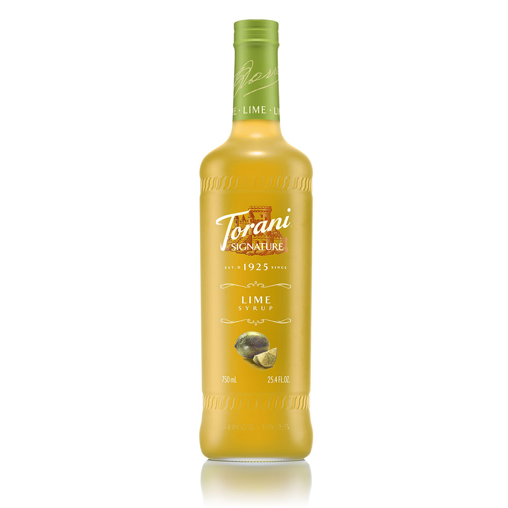 Torani Lime Signature Syrup, 750 ml
