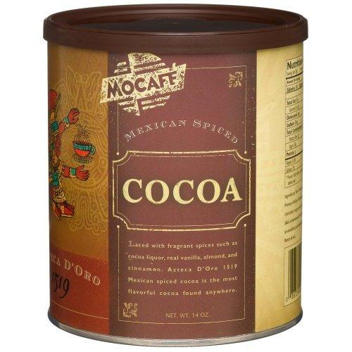 Mocafe Azteca D'oro 1519 Mexican Spiced Cocoa, 14 oz Can