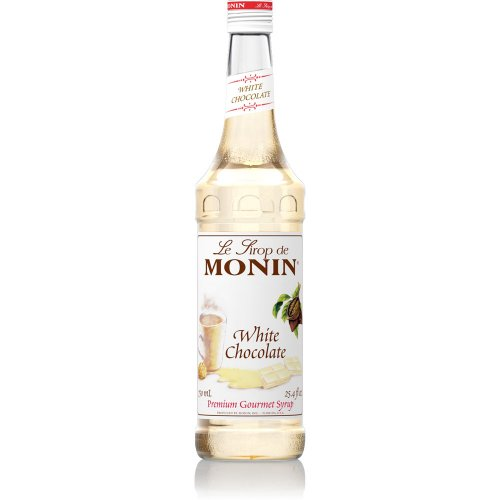 Monin White Chocolate Syrup, 750 ml