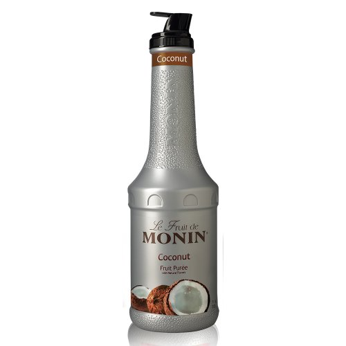 Monin Coconut Fruit Puree, 1 liter bottle
