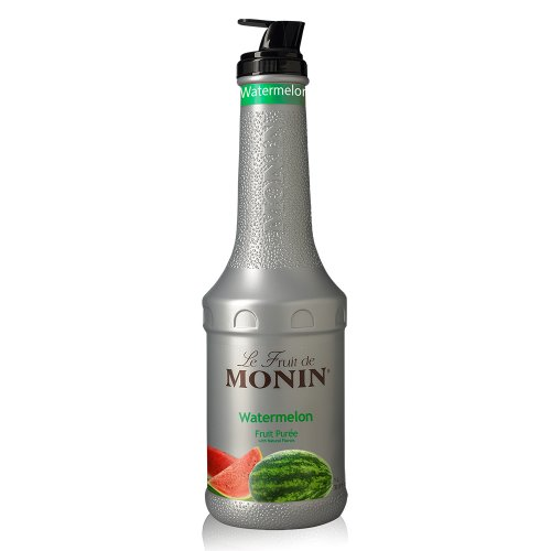 Monin Watermelon Fruit Puree, 1 liter bottle