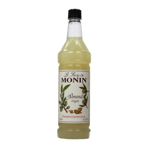 Monin Almond (Orgeat) Syrup,1 liter bottle PET