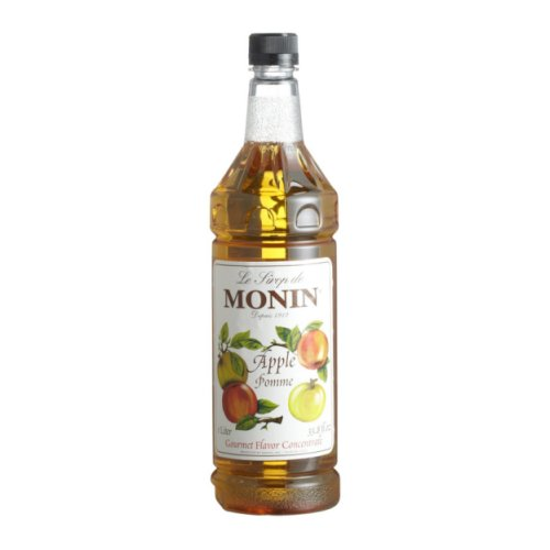 Monin Apple Syrup, 1 liter bottle PET