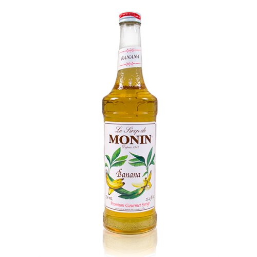 Monin Banana Syrup, 750 ml