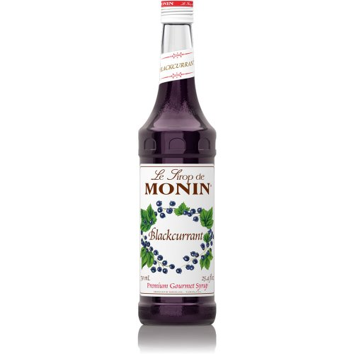 Monin Black Currant Syrup, 750 ml