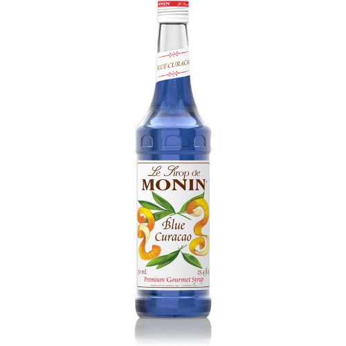 Monin Blue Curacao Syrup, 750 ml